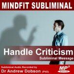 handle criticism subliminal message mp3