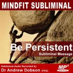 Persistence Subliminal Message MP3 Download