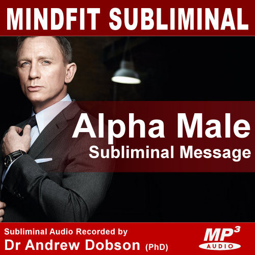 Mindfit Hypnosis Alpha Male Subliminal Message MP3 CD