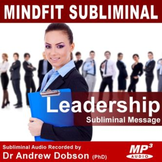 be a leader subliminal message audio mp3