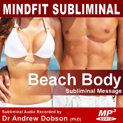beach body confidence subliminal message mp3 or cd