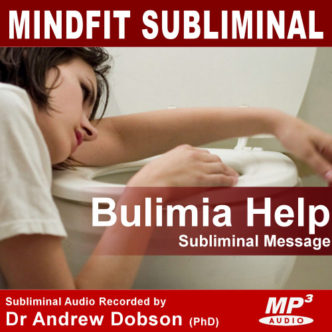 Bulimia subliminal message treatment MP3 cd